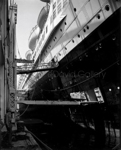 Luxury Liner S.S. Normandie 1940